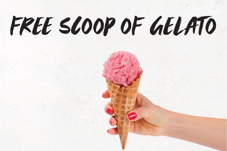 Free Scoop of Gelato
