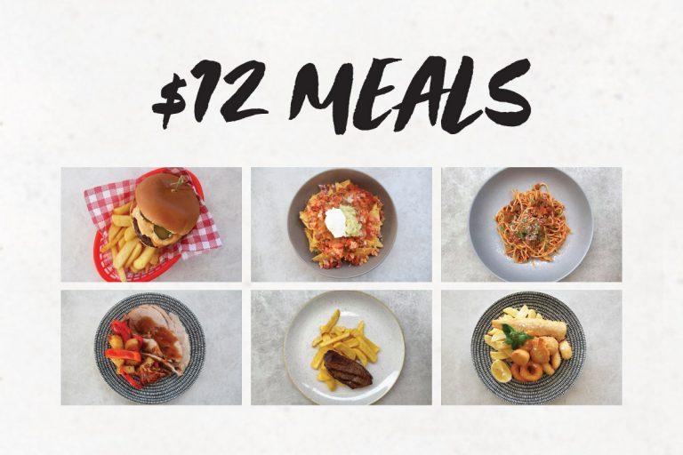 $12 Meals