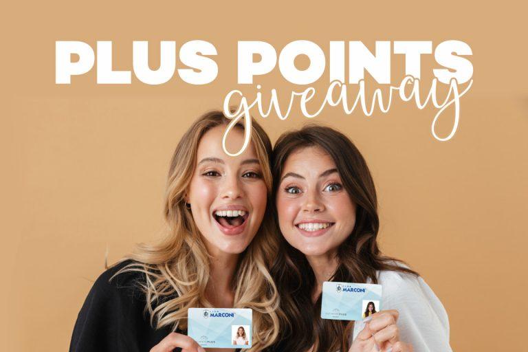 Plus Points Giveaway